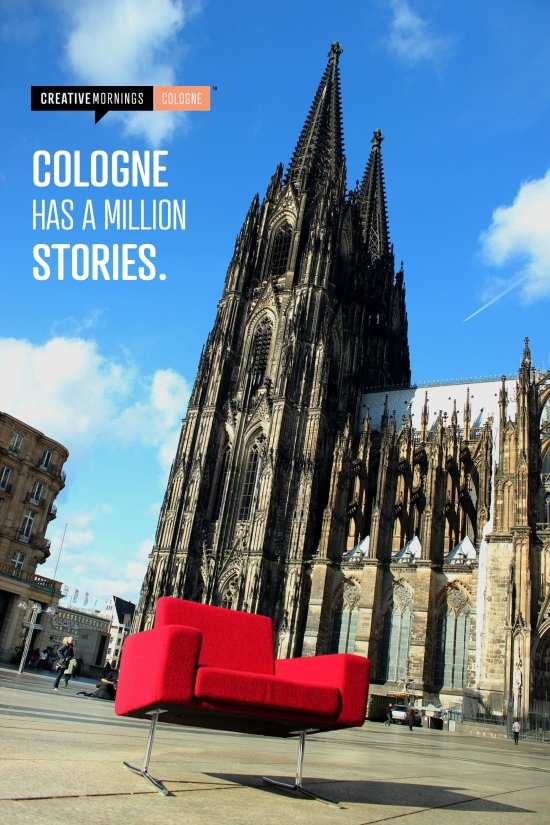 CreativeMornings – Cologne has a million stories.