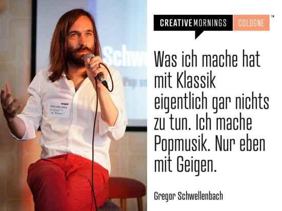CreativeMornings Köln - Gregor Schwellenbach