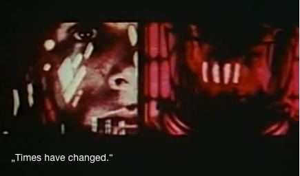 """Saul Bass zeigt die """"modernen Zeiten""""."""