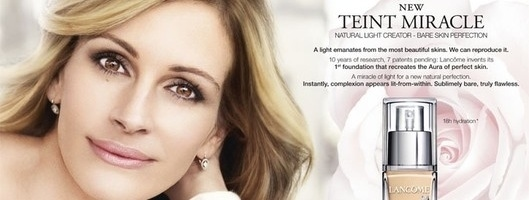 Umstrittene Julia-Roberts-Kampagne von L'Oréal