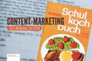 Content-Marketing zu Uromas Zeiten