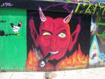 The Devil smokes