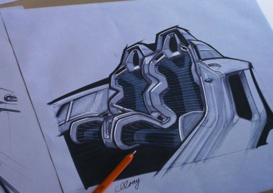 Ikara sketch collation 3d