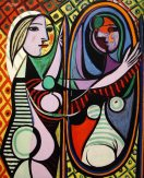 "Pablo Picasso ""Girl in the Mirror""(2)."