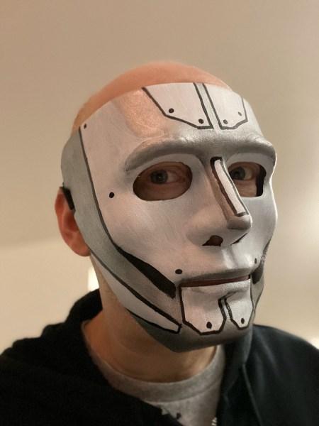 The finished mask