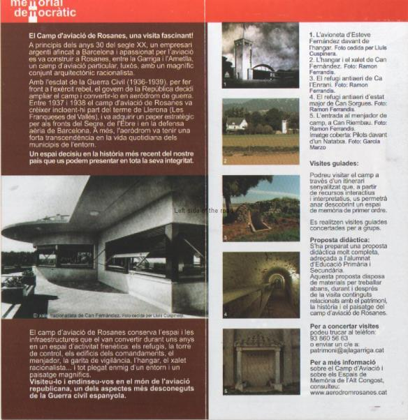 Leaflet for Rosanes Air Field page 2
