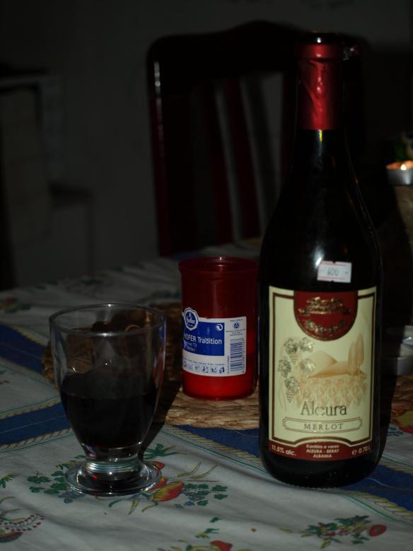Aleura Merlot Albanian wine