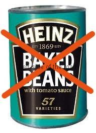 No more beans for the foodbanks!