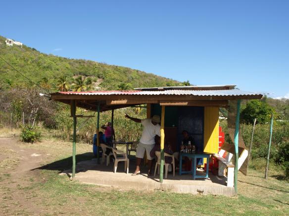 Rum shack at La Pompe, Bequia