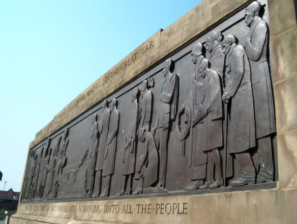 Liverpool Cenotaph Mourning Panel