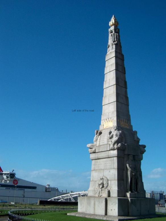 Monument to the Heroes of the Engine Room Liverpool