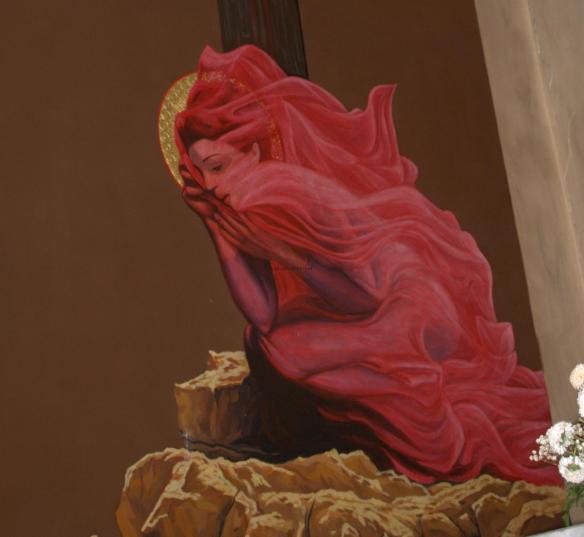 Tirana Catholic Church - Mary Magdalene - detail