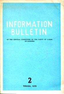Information Bulletin 1970 No 2 - Part 1