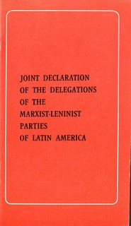 Joint Declaration of the Delegations of the Marxist-leninist Parties of Latin America