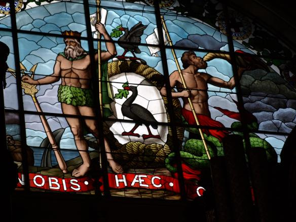 Neptune and The Liver Bird - Concert Hall - St George's Hall - Liverpool