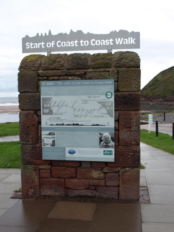 Mile Zero - Coast to Coast Walk - St Bees - Cumbria