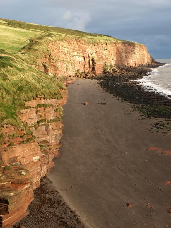 St Bees Head in the sun!