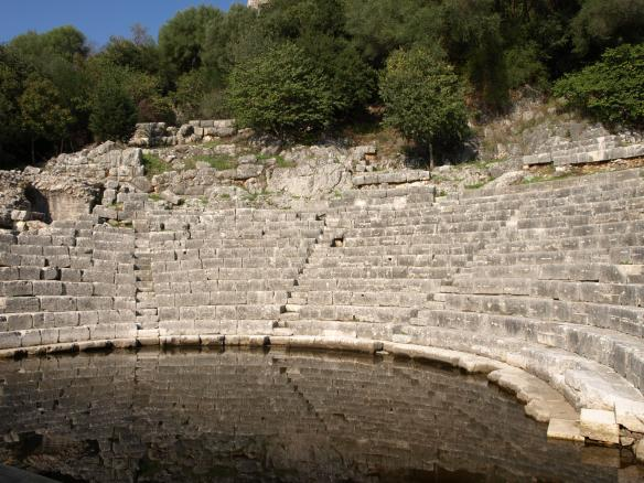 Butrint Theatre - Southern Albania