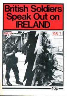 British Soldiers Speak Out on Ireland