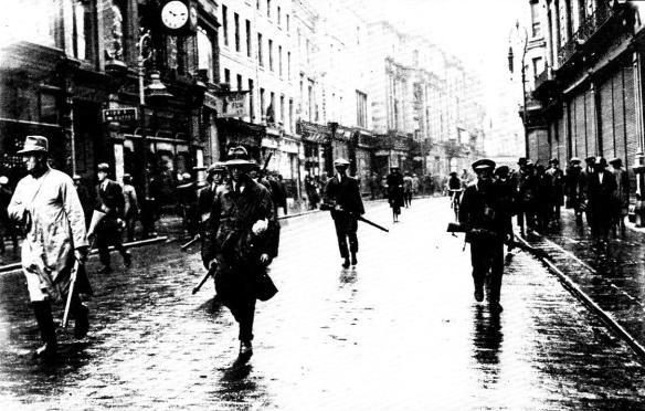 IRA Rebels in Dublin 1922