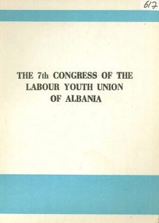 1978 7th Congress of the Labour Youth Union of Albania