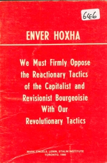 1980 We Must Firmly Oppose the Reactionary Tactics of the Capitalist