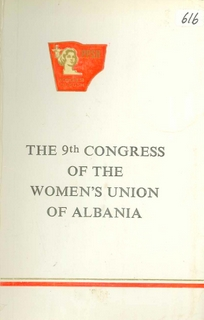 1983 The 9th Congress of the Women's Union of Albania