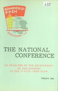 1983 National Conference on Problems of the Development of the Economy