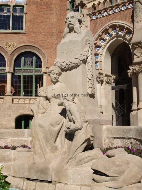 Hospital Santa Creu i Sant Pau - Pau Gil i Serra