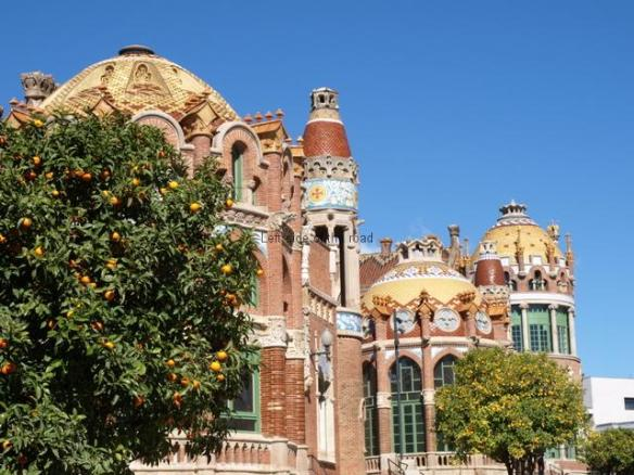 Hospital Santa Creu i Sant Pau - Garden Pavilions