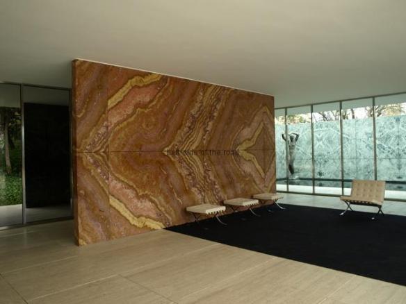 'Barcelona' Chair - Mies van der Rohe Pavilion