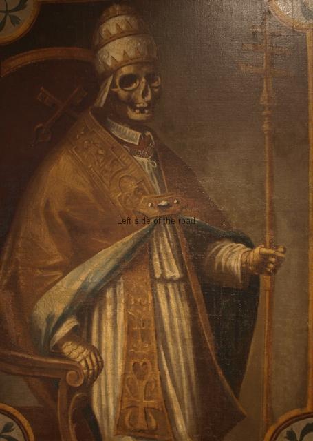 'Macabre' Pope