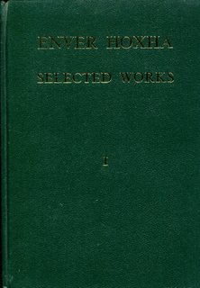 Enver Hoxha, Selected Works, Volume 1
