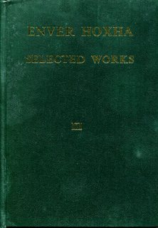 Enver Hoxha, Selected Works, Volume 3