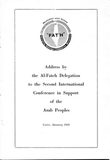 Address by the Al-Fateh delegation