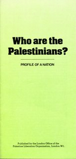Who are the Palestinians