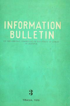 Information Bulletin No 3 1970