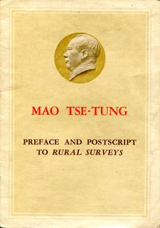 Preface and Postscripts to Rural Surveys