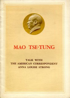 Talk with the American Correspondent Anna Louise Strong
