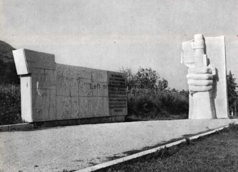 Mushqeta Monument - soon after construction