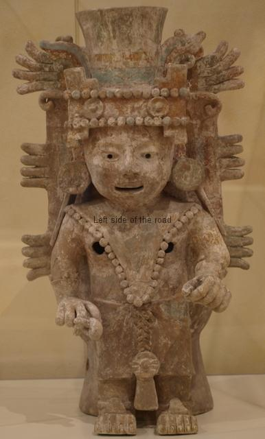 Mayan Exhibition Liverpool - pottery figure