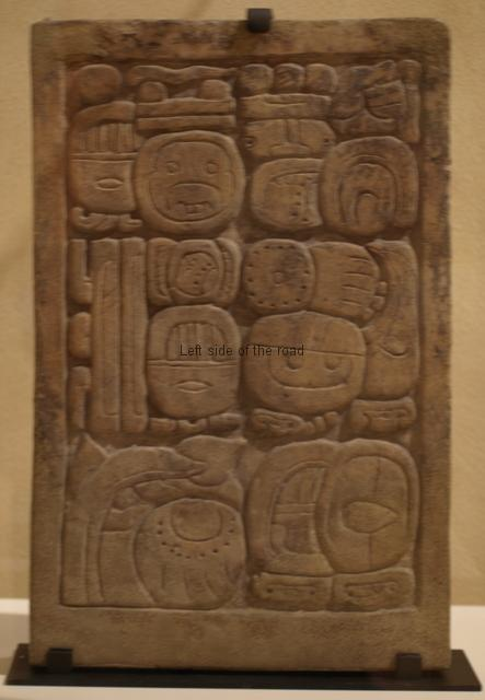 Mayan Exhibition Liverpool - hieroglyphics