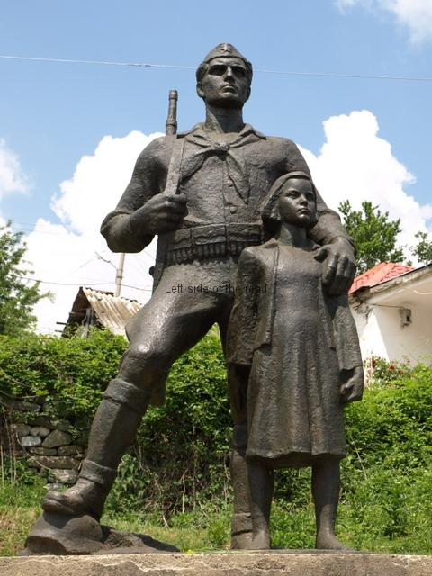 Partisan and Child, Borove