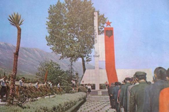 Martyrs' Cemetery, Gjirokaster