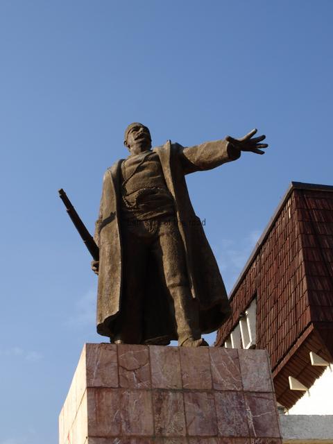 Bajram Curri Statue