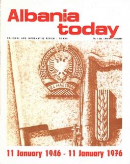 Albania Today No 1 (26) 1976