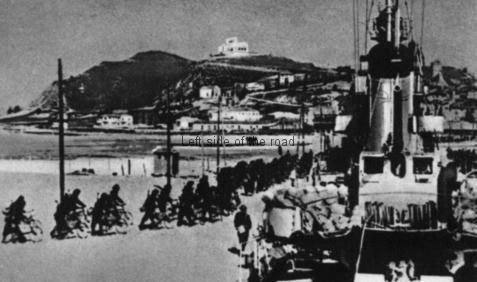 Italian Fascist Invasion 1939