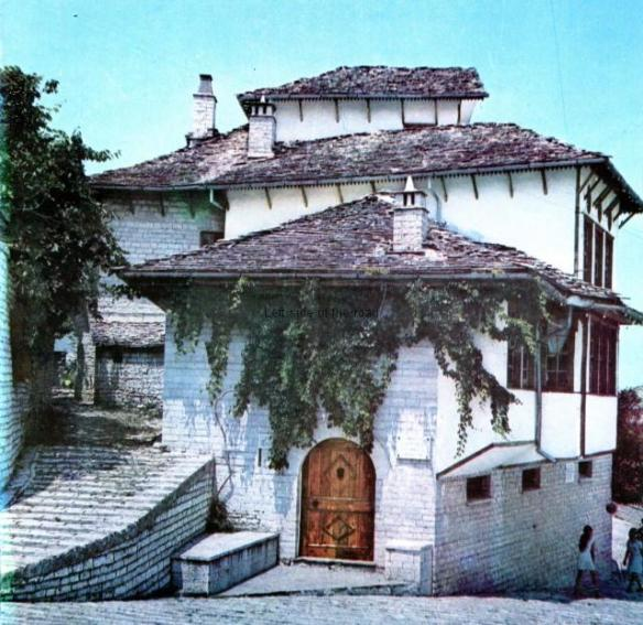 Characteristic house in Gjirokastra