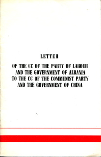 Letter of CC of PLA to CC of CPC