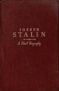 Joseph Stalin - a short biography, 1949